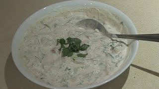 RAITA Bajias Cooking