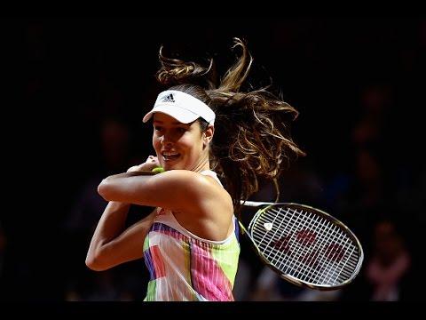 2016 Porsche Tennis Grand Prix First Round | Ana Ivanovic vs Carina Witthoeft | WTA Highlights
