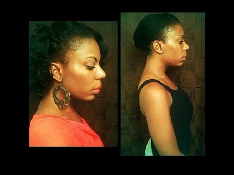 Growth Results EdgesThin Hairline 4C Natural Hair