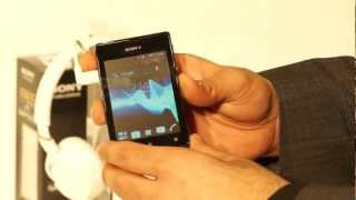 Sony Xperia E and E Dual Hands on at Launch in India - iGyaan