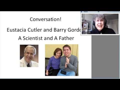 Eustacia Cutler and Dr  Barry Gordon