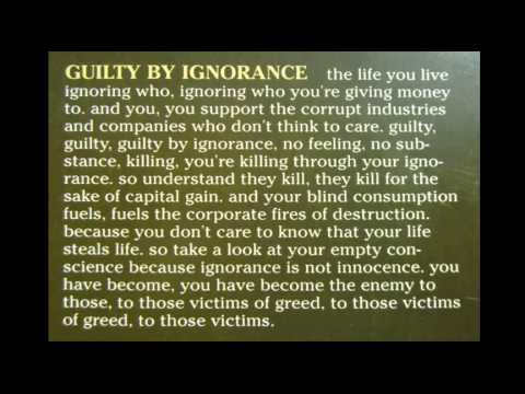 Snapcase - Guilty By Ignorance