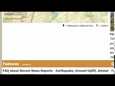 Is Yellowstone National Park Volcano About To Blow--Is USGS Lying To Us?