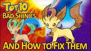The Top 10 WORST Shiny Pokemon (And How to Fix Them!)