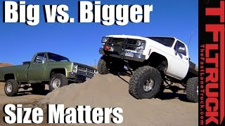 Download Is Bigger Always Better? Built Chevy K10 vs. Big Green Ep.3 3Gp Mp4