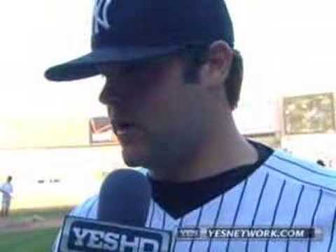 Joba Chamberlain Interview 9/23/07 Video
