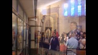Entronización del Señor de los Milagros Vallecas Madrid
