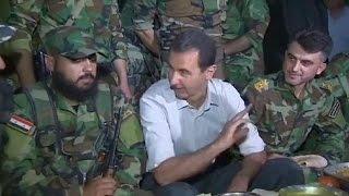 Syrie : Bachar al-ad s'affiche sur le front