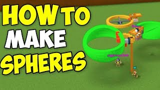 HOW TO MAKE *SPHERES*   Build a boat For Treasure ROBLOX