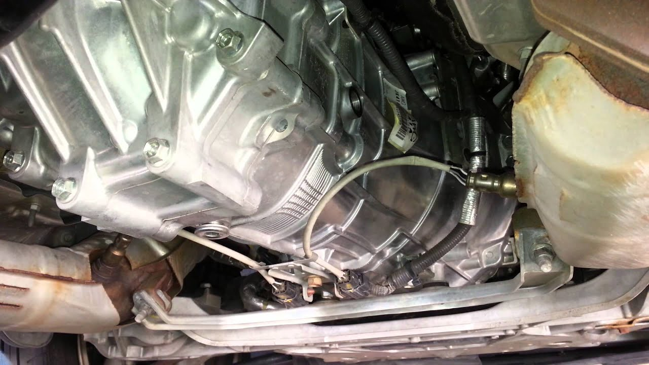 DIY: INFINITI G37s/ 370Z Transmission Oil Change - YouTube