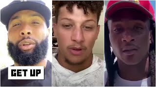 NFL stars team up for a powerful message to the league | Get Up