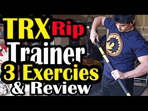 TRX Rip Trainer Exercises and Review