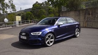 2017 Audi S3 Sedan (S tronic) 0-100km/h & engine sound
