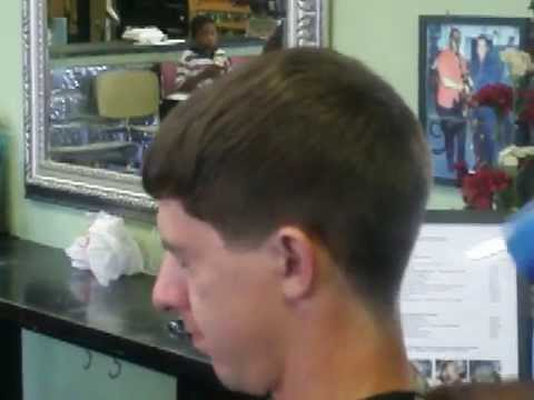 Scissors Clipper Taper Temp Mens Haircut Pt 2 Of 2 YouTube