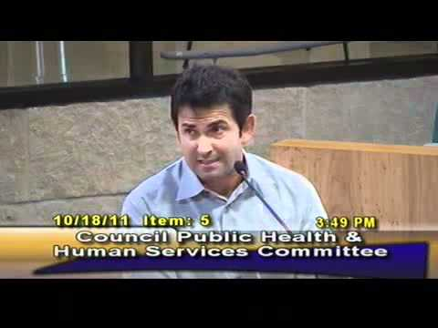 Austin Citizens Call for Fluoride Health Warning on Water Bills 10-18-2011