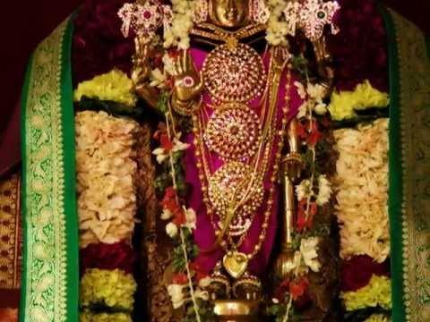 Devotional Carnatic Krithi (kalyana Gunams Of Perumal) - madhava Kesava Narayana Parkadal video