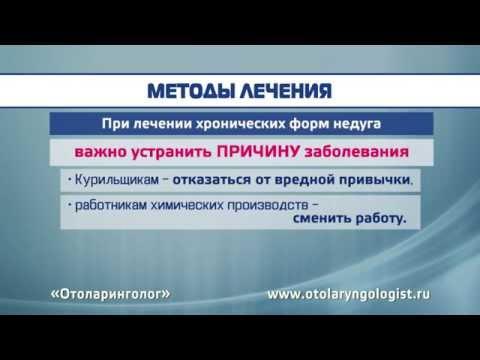 0 - Методи лікування трахеїту ліки інгаляції народні засоби