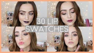 LIP SWATCHES | Ofra Long Lasting Liquid Lipsticks!