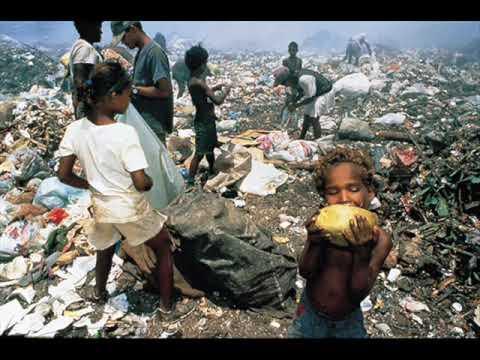 La Contaminación de basura