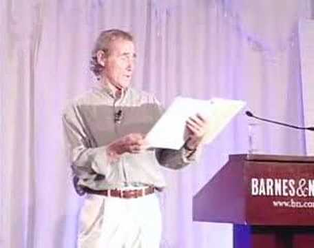 Jim Dale reads Harry Potter in B&amp;N party part 1