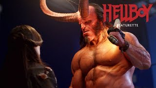 "Hellboy (2019) Featurette ""Keeping it Practical"" – David Harbour, Milla Jovovich"