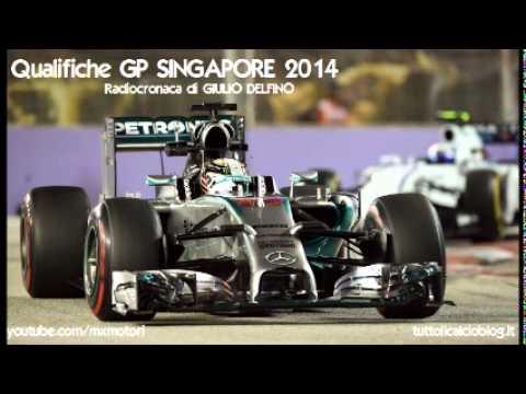 Qualifiche Gp Singapore 2014 - Radiocronaca di Giulio Delfino (MARINA BAY) da Radiouno RAI