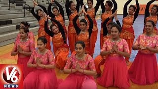 Telangana Association Organise Bathukamma Celebrations In North Carolina  USA NRI News