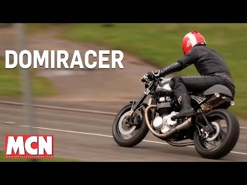 WORLD EXCLUSIVE: Norton Domiracer Ridden | Road Test | Motorcyclenews.com