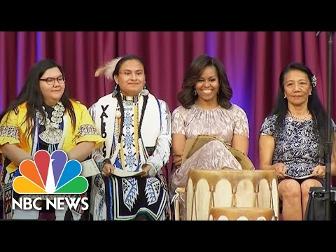 Michelle Obama To Native American Students: You're Among The Next Generation Of Leaders | NBC News