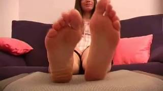 Sophie...Large!! shoe removal