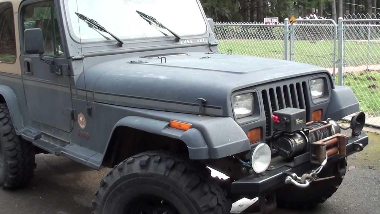 My 1995 Jeep Wrangler Yj Youtube