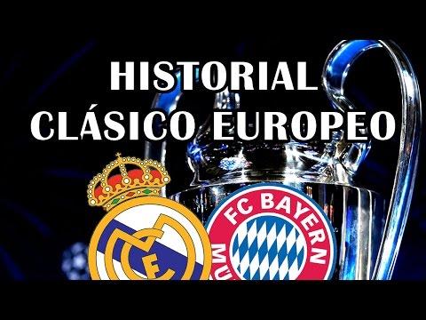 REAL MADRID VS BAYERN MUNICH | HISTORIAL EN CHAMPIONS LEAGUE thumbnail