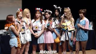 [Fancam] 160522 Twice - Banana Song By Jibbazee