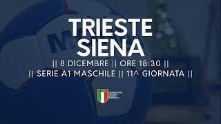 Serie A1M [11^]: Trieste - Siena 28-23