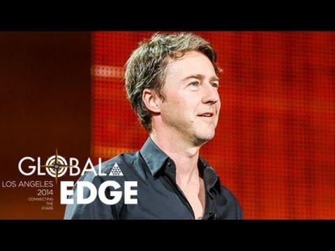 2014 YPO Global EDGE - Edward Norton