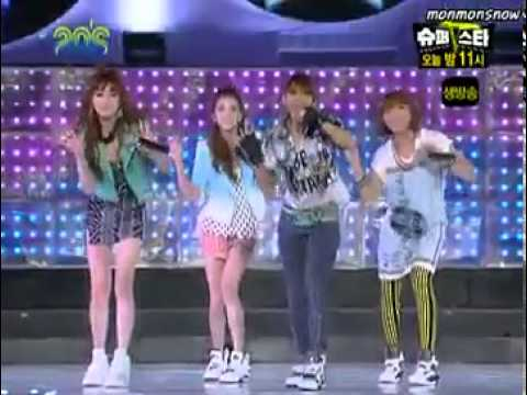 투애니원 @ 2009 (20's Mnet Choice)