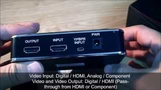 How to record HD video from game console with capture recorder box