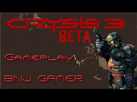 Crysis 3 Gameplay - Open Beta - Clan Bala na Jaca
