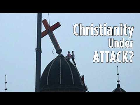 China is Tearing Down Christian Crosses | China Uncensored