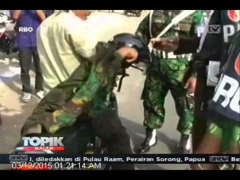 [ANTV] TOPIK Kendaraan Berplat TNI Kena Razia
