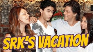 Shah Rukh Khan's Family Vacation In London