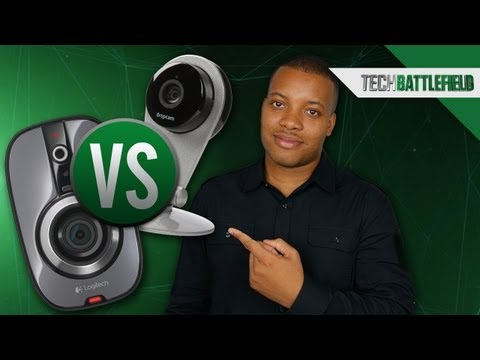 The Logitech Alert 750n vs The Dropcam - Home Video Surveillance Battle