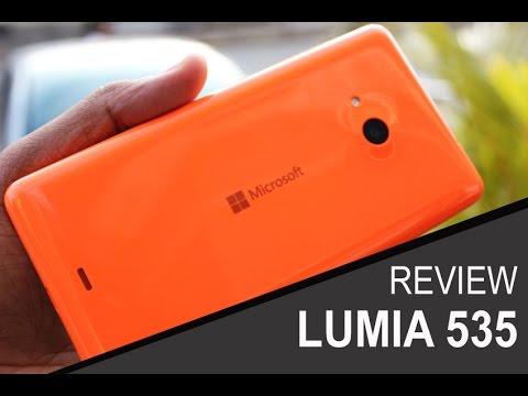 Review Microsoft Lumia 535 Português