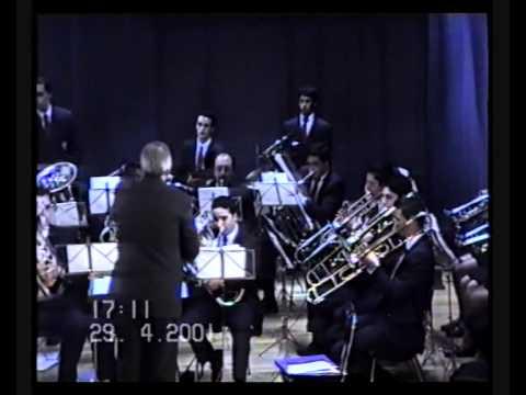 FILARM�NICA DE ERVEDAL DA BEIRA Concerto em 29 de Abril de 2001