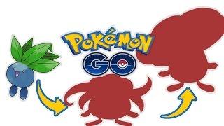 Oddish Evolves Pokemon Go Evolution (All transformation)