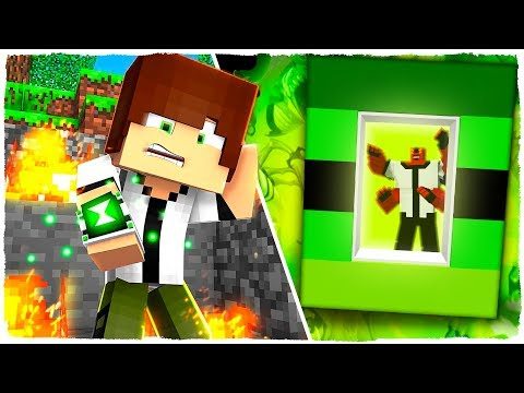 HOW TO MAKE A PORTAL TO THE DIMENSION OF BEN 10 - MINECRAFT