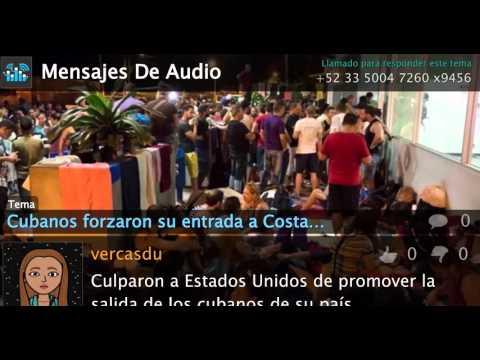 Cubanos entran a la fuerza a Costa Rica
