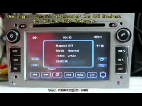 Secrets of the Opel Astra Zafira Vectra Corsa car dvd gps