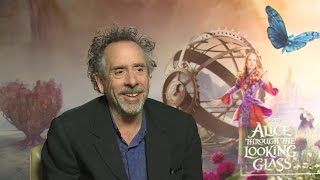 Tim Burton on 'Alice Through the Long Gl' and Producing the Sequel
