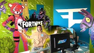MY NEW ULTIMATE FORTNITE GAMING ROOM!! ($50,000 SETUP)
